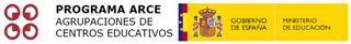 Logotipos Ministerio de Educación y Proyecto ARCE